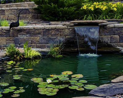 Photograph - Water Feature by Len Moser