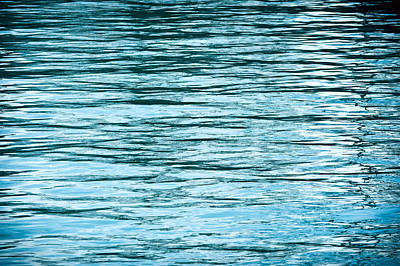 Abstract Seascape Photograph - Water Flow by Steve Gadomski