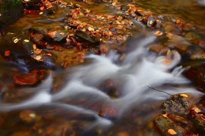 Photograph - Water Flowing by Jill Lang