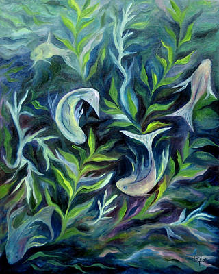 Painting - Water by FT McKinstry