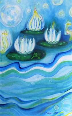 Painting - Water Garden by Denise Fulmer
