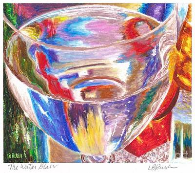 Painting - Water Glass by Lisa Bliss Rush
