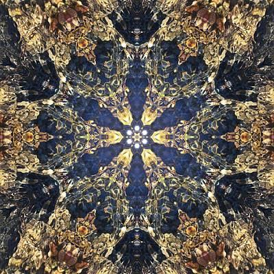 Mixed Media - Water Glimmer 3 by Derek Gedney