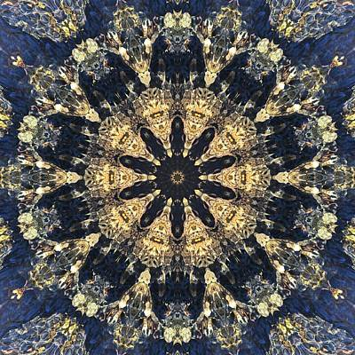 Mixed Media - Water Glimmer 4 by Derek Gedney