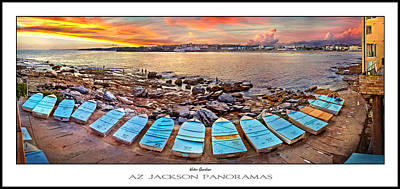 Fishing Photograph - Water Guardians Poster Print by Az Jackson