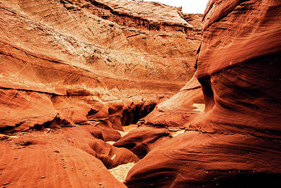 Photograph - Water Holes Canyon  by Norman Hall