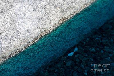 Water II Art Print by Marta Grabska-Press