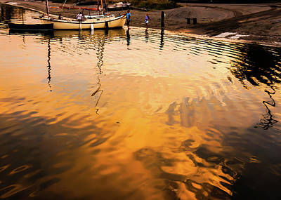 Photograph - Water Into Gold by Ronda Broatch