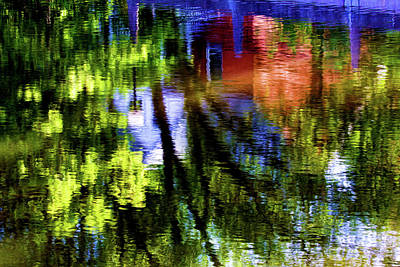 Photograph - Water Is Our Mirror by Tatiana Travelways