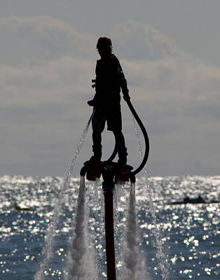 Jetpack Photograph - Water Jetpack by Steve Bell
