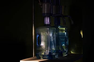 Photograph - Water Jugs In Evening Light by Aliceann Carlton