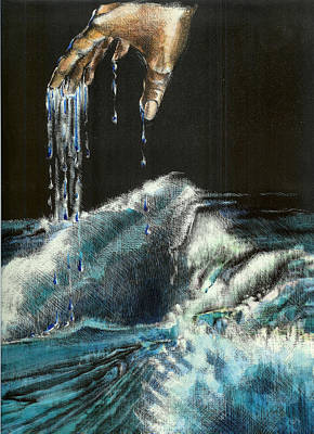 Mixed Media - Water by Kathleen Romana