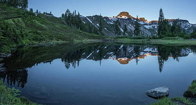 Designs In Nature Photograph - Water Like Mirror II by Jon Glaser