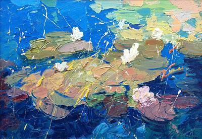 Water Lilies  Original by Agostino Veroni
