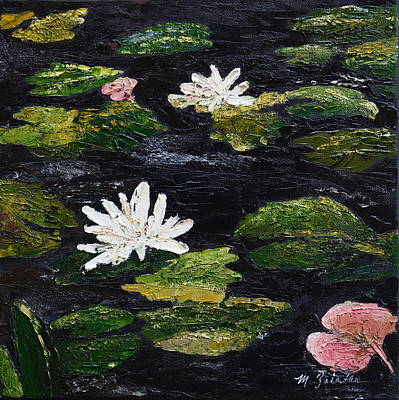 Painting - Water Lilies IIi by Marilyn Zalatan