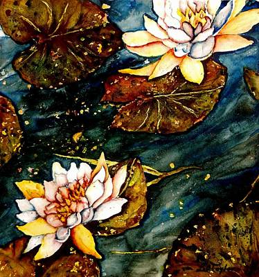 Painting - Water Lilies by Lil Taylor