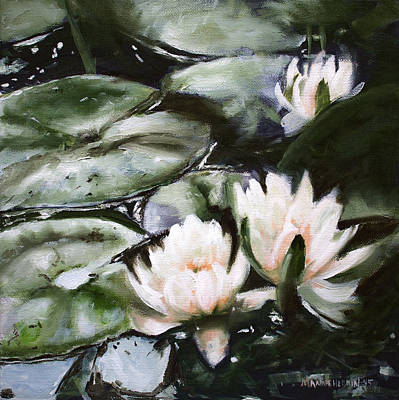 Painting - Water Lilies by Melissa Herrin