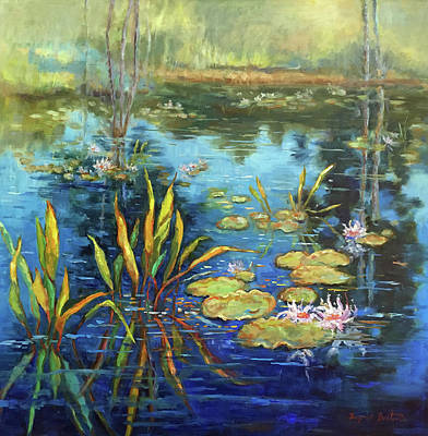 Water Lilies Okefenokee Original