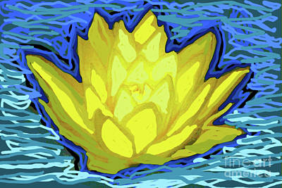 Photograph - Water Lilly by Shirley Moravec