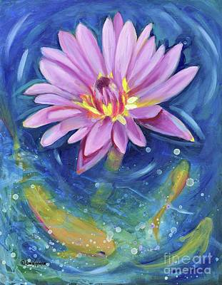 Water Lily Frenzy Original
