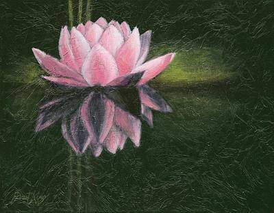 Painting - Water Lily by Janet King
