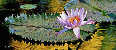 Photograph - Water Lily Mug by Bob Zeller