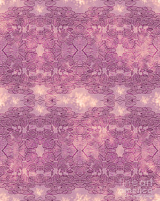 Popular Mixed Media - Water Lily Pattern by Caitlin Lodato