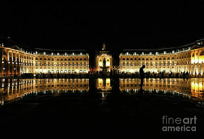 Photograph - Water Mirror Bordeaux by Lynn Bolt