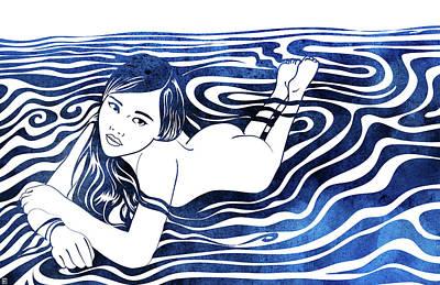 Water Nymph V Art Print