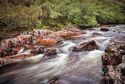 Photograph - Water Of Nevis by Colin and Linda McKie
