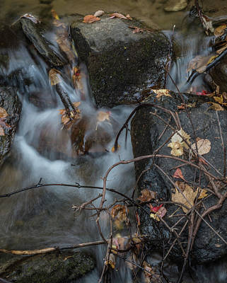 Photograph - Water On The Rocks by Jane Luxton