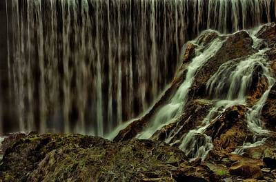 Photograph - Water Over The Dam by Sherman Perry