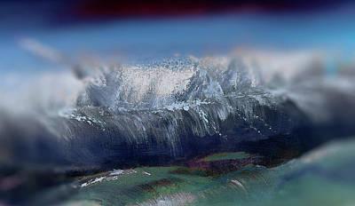 Digital Art - Water Painting by Lisa Kaiser
