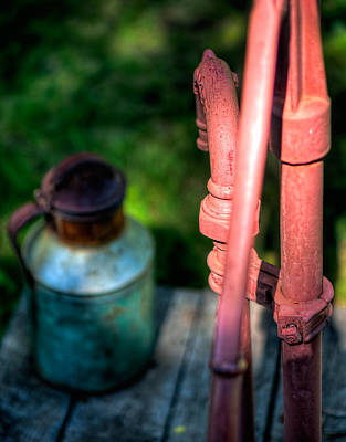 Photograph - Water Pump by Nisah Cheatham