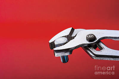 Photograph - Water Pump Pliers by Trevor Chriss