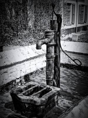 Water Pump Print by Wim Lanclus