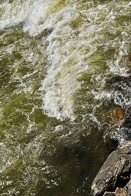 Photograph - Water Rapids by Nathan Little