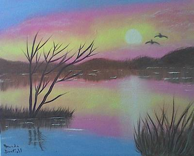 Painting - Water Reflections by Brenda Bonfield