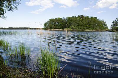 Photograph - Water Reflections by Kennerth and Birgitta Kullman