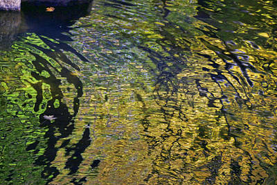 Photograph - Water Reflections 8 by Allen Beatty