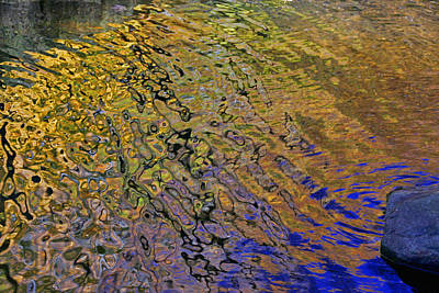 Photograph - Water Reflections 9 by Allen Beatty