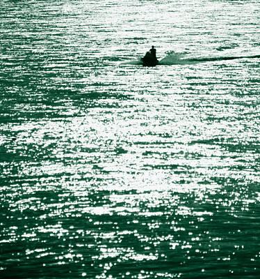 Water Rider Art Print