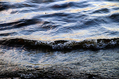 Photograph - Water Ripples 2 by Mke Murdock
