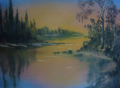 Water Scene 2a Art Print