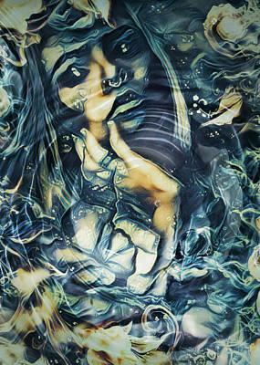 Digital Art - Water Sirens 2 by Rhonda Barrett