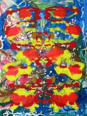 Alfredo Llana Painting - Water Spirit by Alfredo Dane Llana