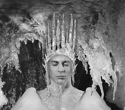 Digital Art - Water Spirits 17 by Alma