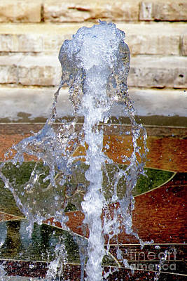 Photograph - Water Spout 1 by Andee Design
