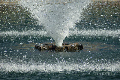 Photograph - Water Spout by Dale Powell