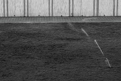 Photograph - Water Sprinkler Minimalism by Prakash Ghai